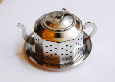 Zaparzacz czajnik kanciasty