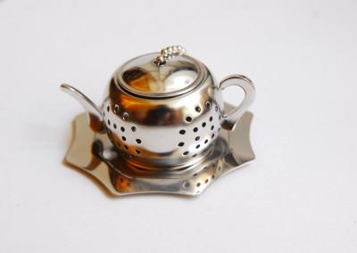 Zaparzacz czajnik okrągły